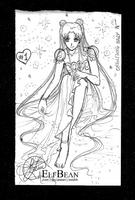 Sketchbook #45 - Bubbles by ElfBean