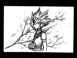 Sketchbook #52 - Gold Leaf by ElfBean