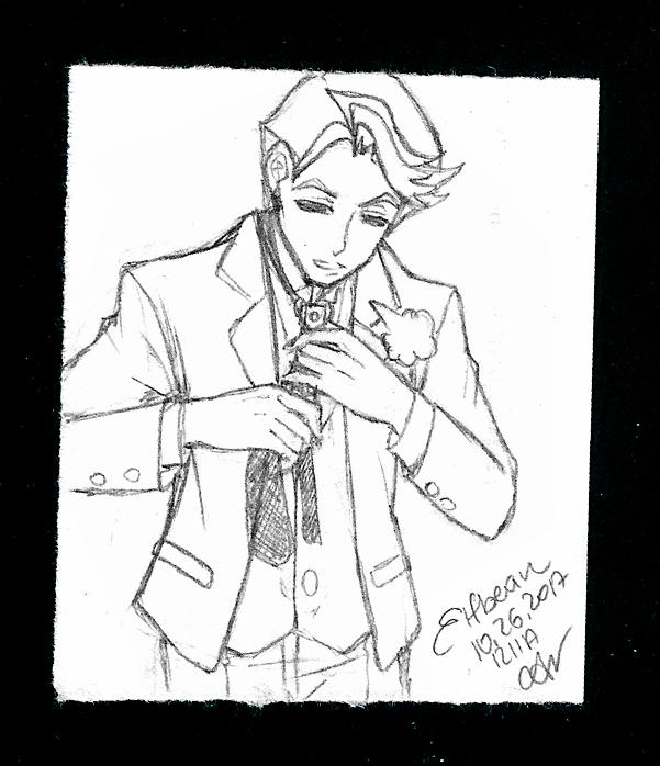 Sketchbook  #54 - Zaizen by ElfBean