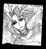 Sketchbook #68 - Aura by ElfBean