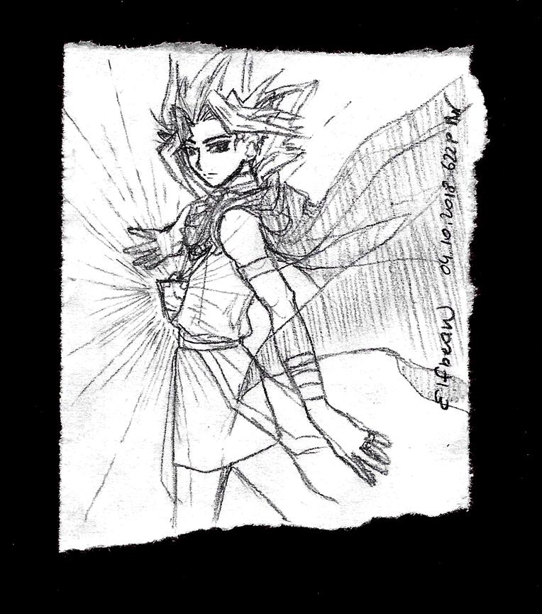 Sketchbook #71 - Beam by ElfBean