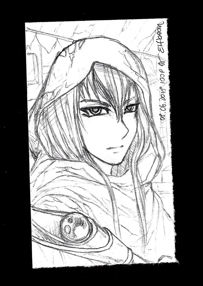 Sketchbook #81 - Cover by ElfBean