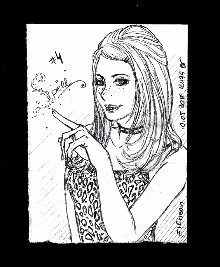 Sketchbook #90 - Spell by ElfBean