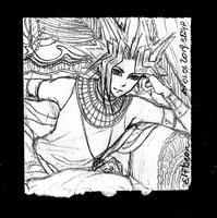Sketchbook #93 - Muse by ElfBean