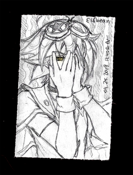 Sketchbook #100 - Iris