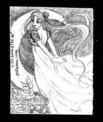 Sketchbook #110 - Moonrose