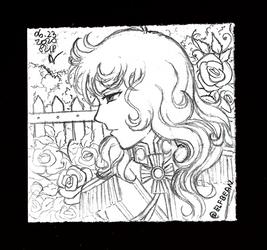Sketchbook #118 - French Rose