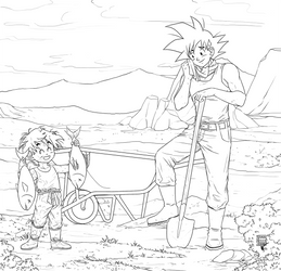Commission - Look, Dad!