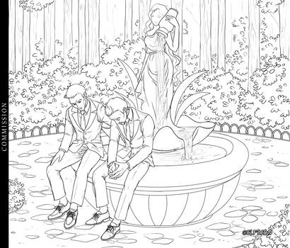 Commission - Fountain
