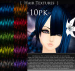 Hair Texture Pack 1 by minority83