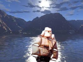 Sail Away by ginkin99
