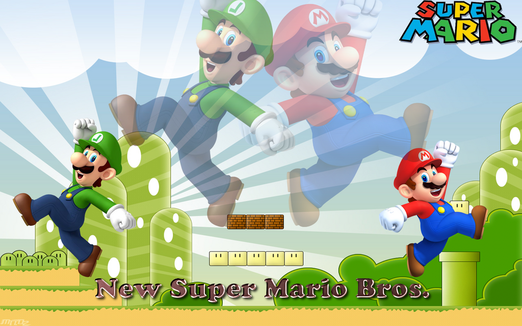 Mario and luigi wallpaper for andrew by shyguypwnztm on deviantart mario and luigi wallpaper for andrew by shyguypwnztm altavistaventures Gallery