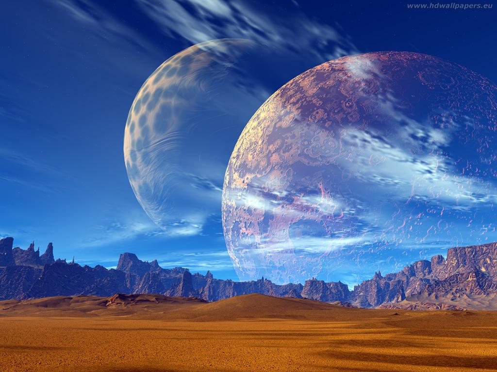 Two Moon 1024x7681 By Hdtom On Deviantart