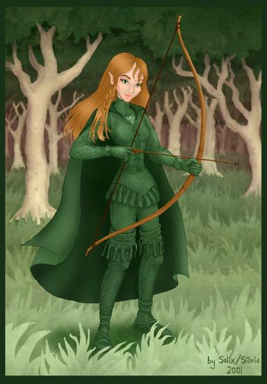 Isilinde the Elf by SalixTree