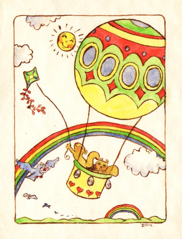 Balloon Fun by SalixTree
