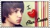 I :heart: Alex Evans Stamp by SilentClamity