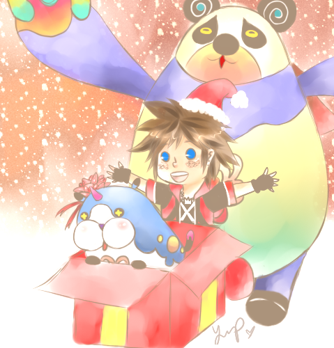 Surprise! A KH Christmas! by Hana-Cake