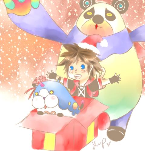 Surprise! A KH Christmas! by Hana-Cake