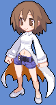 Laharl's mother Disgaea 4 sprite by Maharl