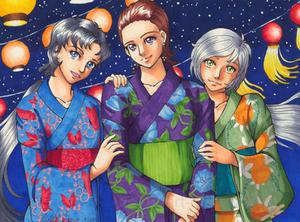 The Stars on Tanabata