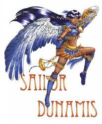 Sailor Dunamis  - C by HeartOfAmethyst