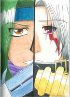 Sora And Haseo by HeartOfAmethyst