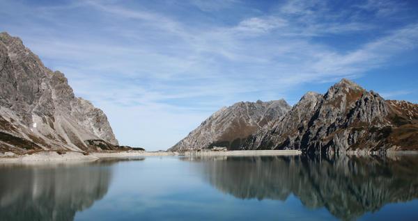 mountain lake by mathias-erhart
