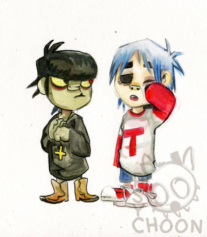 Mudsie and Stu by Psychoon