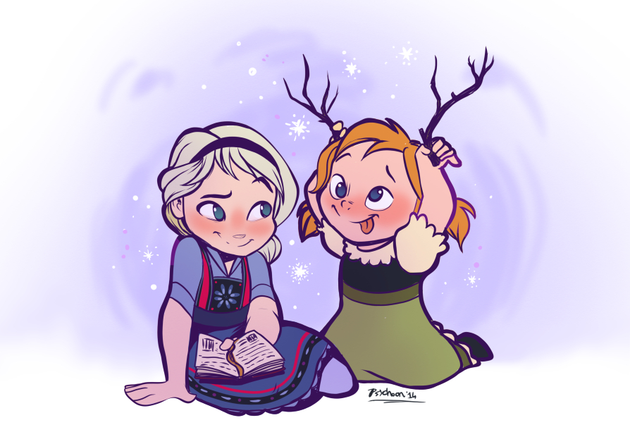 Look, Elsa! by Psychoon