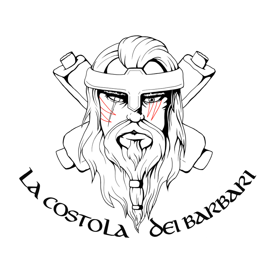 Costola Barbari Logo Bn by Mercury90