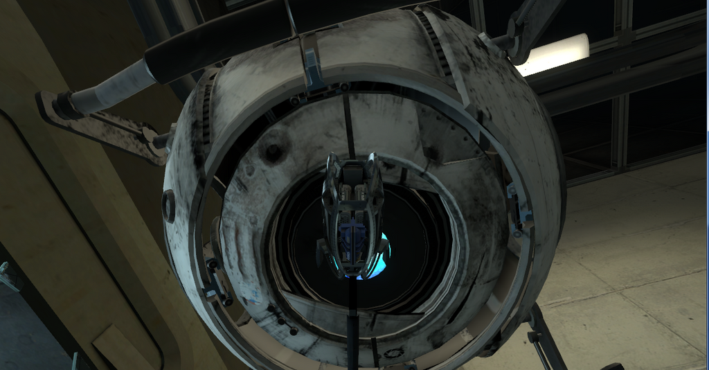 defective turret x wheatley by Roomba550