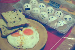 Egg massacre by richgrohl