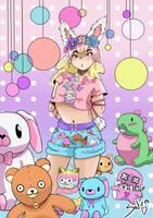 Pastel Girl by Saioaarte