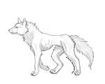 free wolf .:lineart:.