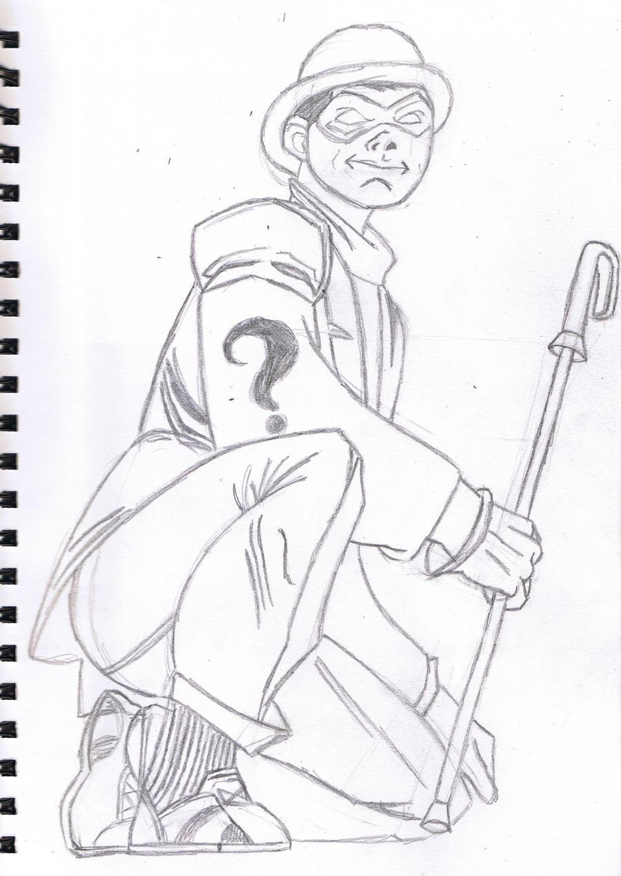 Quizmaster sketch by ArachFinne
