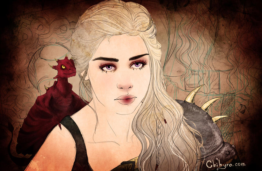 Daenerys Targaryen by Chihyro on DeviantArt