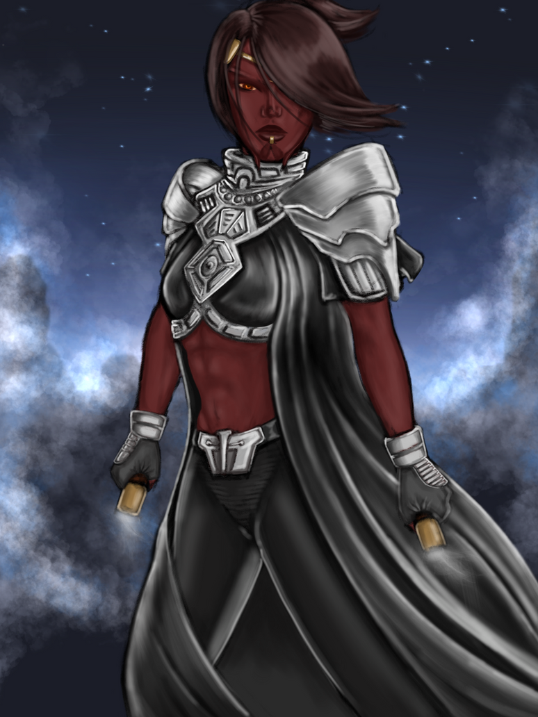 Sith Warrior: So'alle Desyila by Glorfinniell