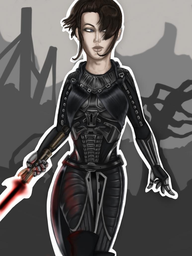 Jen'ari-asha: Warrior by Glorfinniell