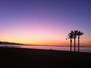 Sunrise in Almeria