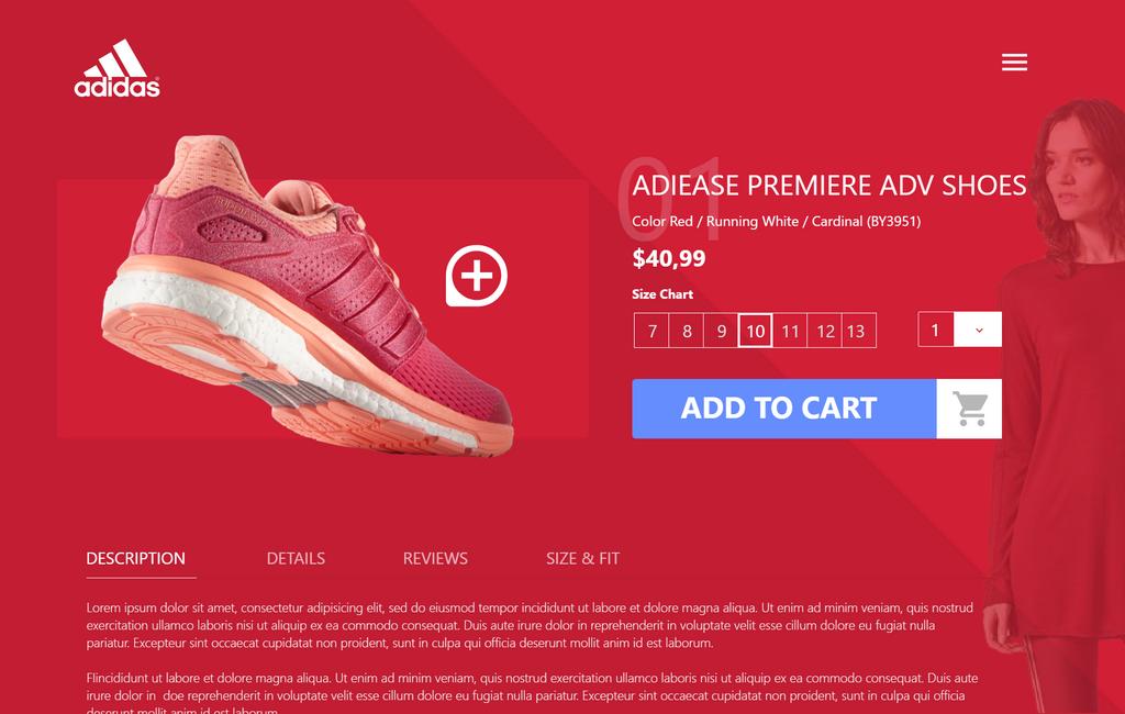 Online store UI by en3sis