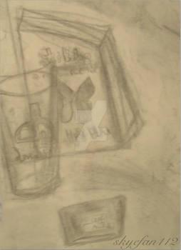 Drawing 1-Shelf Portrait