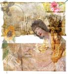 Yellow Sunflower Collage