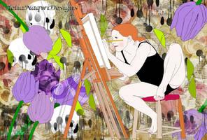 Creativity Blossoms Like Sunshine by AeliaNaqwiDesigns