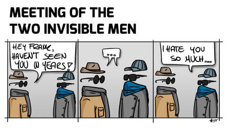 Meeting of the Two Invisible Men