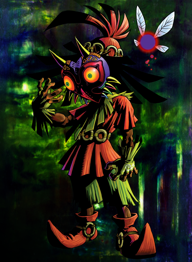 Legend Of Zelda Nook Wallpaper Skull Kid By RadiantSereneChaos