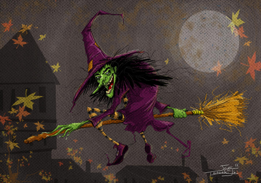 Witch by bluespottedfrog