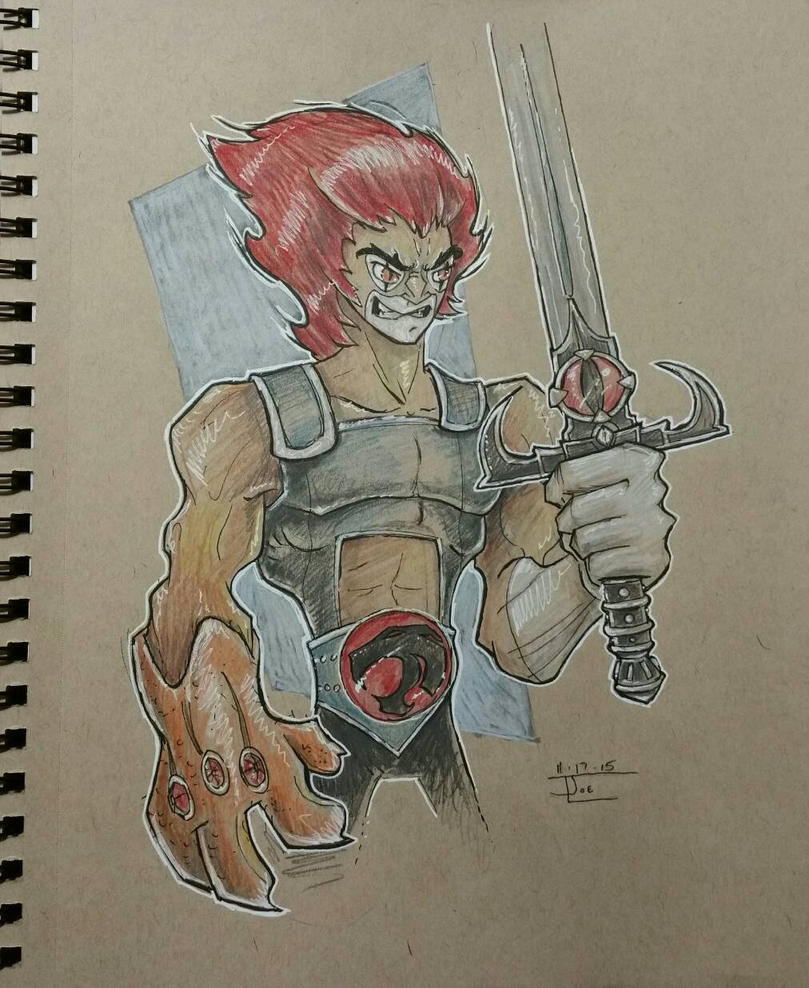 lion-o by bluespottedfrog