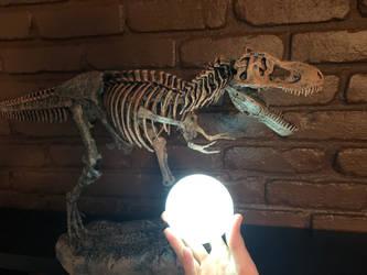 Moon T-Rex by Fiction-Art-Author