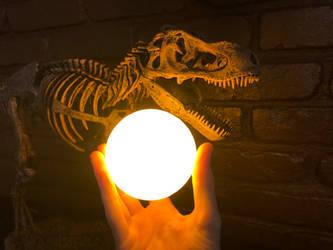 Sun T-Rex by Fiction-Art-Author