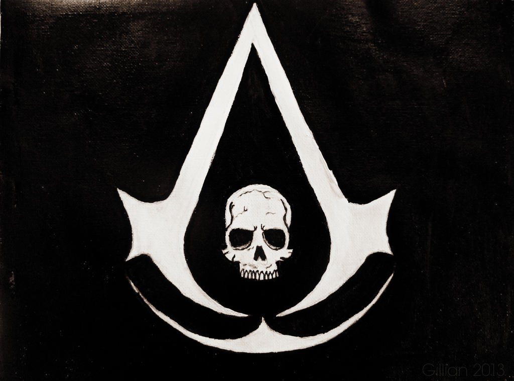 Assassins creed 4 logo by gilly15 on DeviantArt: gilly15.deviantart.com/art/Assassins-creed-4-logo-388968051